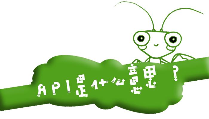 """互联网术语""""API""""是什么意思?"""